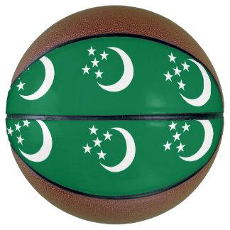 Turkmenistan Flag Basketball