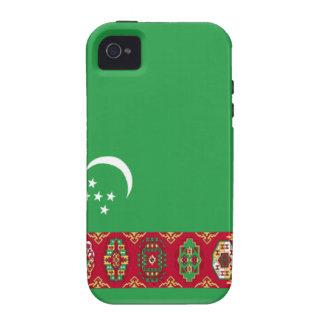 Turkmenistan Flag iPhone 4 Case