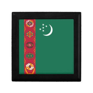 Turkmenistan Flag Gift Box