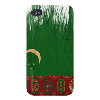 Turkmenistan Flag iPhone 4/4S Cover