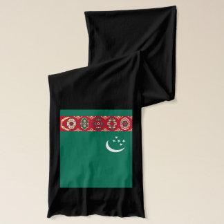 Turkmenistan Flag Lightweight Scarf