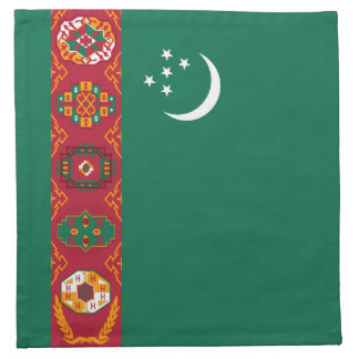 Turkmenistan Flag Napkin