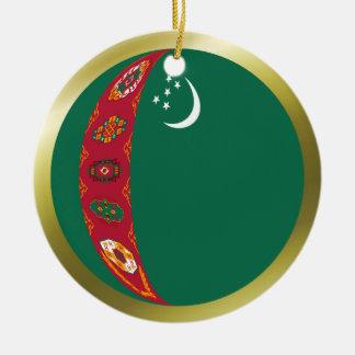 Turkmenistan Flag Ornament