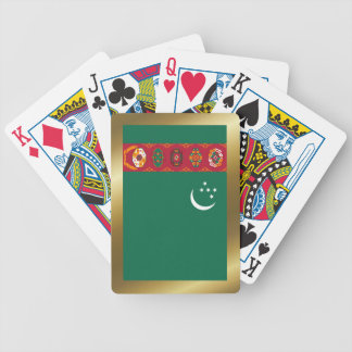 Turkmenistan Flag Playing Cards