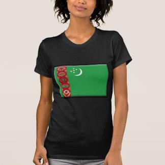 Turkmenistan Flag Tees