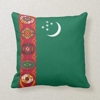 Turkmenistan Flag x Flag Pillow