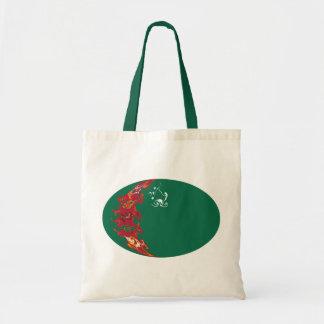 Turkmenistan Gnarly Flag Bag