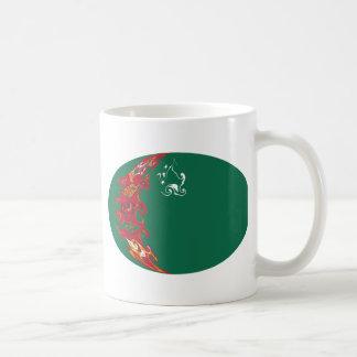 Turkmenistan Gnarly Flag Mug