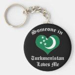 Turkmenistán Llavero Personalizado