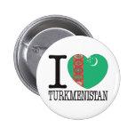 Turkmenistan Love v2 Pin