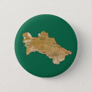 Turkmenistan Map Button