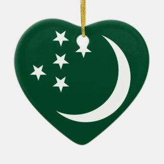 Turkmenistan Christmas Ornament