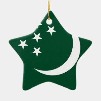 Turkmenistan Christmas Tree Ornament