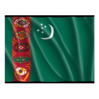 TURKMENISTAN POST CARD