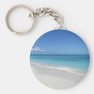 Turks and Caicos Dream Beach Keychain