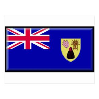 Turks and Caicos Flag Postcard