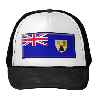 Turks and Caicos Flag Trucker Hat