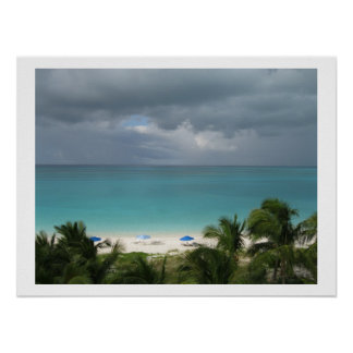 Turks and Caicos Grace Bay Dream Beach Poster