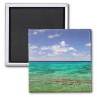 Turks and Caicos, Grand Turk Island, Cockburn 3 2 Inch Square Magnet