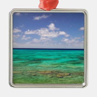 Turks and Caicos, Grand Turk Island, Cockburn 3 Metal Ornament