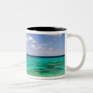 Turks and Caicos, Grand Turk Island, Cockburn 3 Two-Tone Coffee Mug