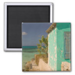 Turks and Caicos, Grand Turk Island, Cockburn 4 2 Inch Square Magnet