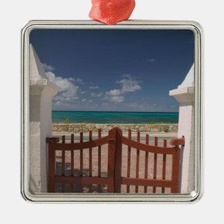 Turks and Caicos, Grand Turk Island, Cockburn 5 Metal Ornament