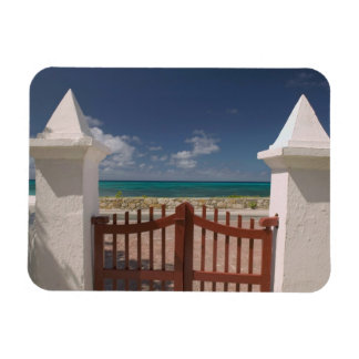 Turks and Caicos, Grand Turk Island, Cockburn 5 Rectangular Photo Magnet