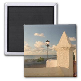 Turks and Caicos, Grand Turk Island, Cockburn 2 Inch Square Magnet