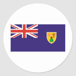 Turks and Caicos Island flag Stickers