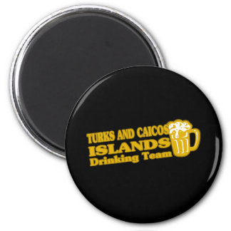 Turks and Caicos Islands Drinking Team Magnet