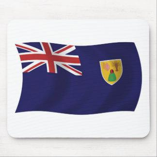 Turks And Caicos Islands Flag Mousepad