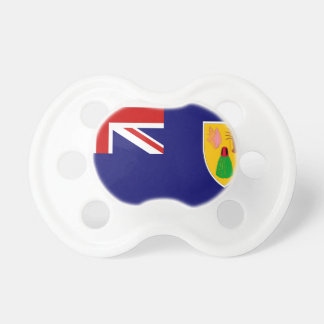 Turks And Caicos Islands Flag Pacifier