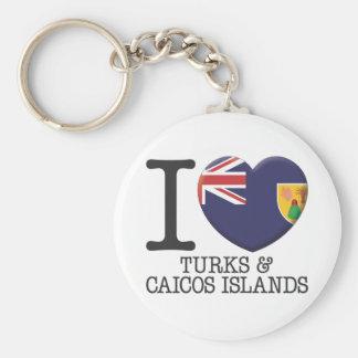 Turks and Caicos Islands Keychain