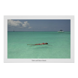 Turks and Caicos Islands Print
