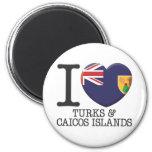 Turks and Caicos Islands Refrigerator Magnet