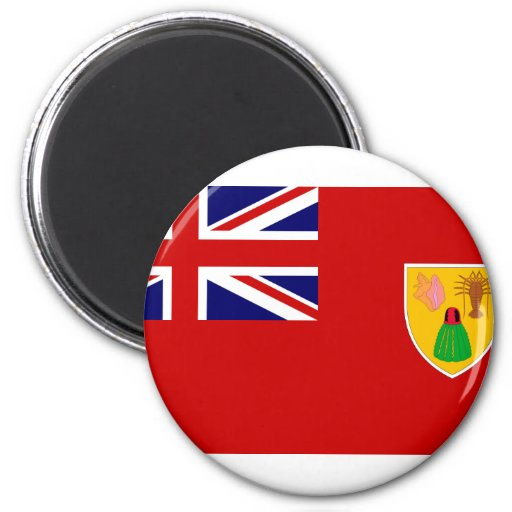 Turks and Caicos Islands, Reino Unido Iman De Frigorífico