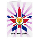 Turks+and+Caicos+Islands Star Greeting Cards