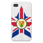 Turks+and+Caicos+Islands Star iPhone 4 Cases