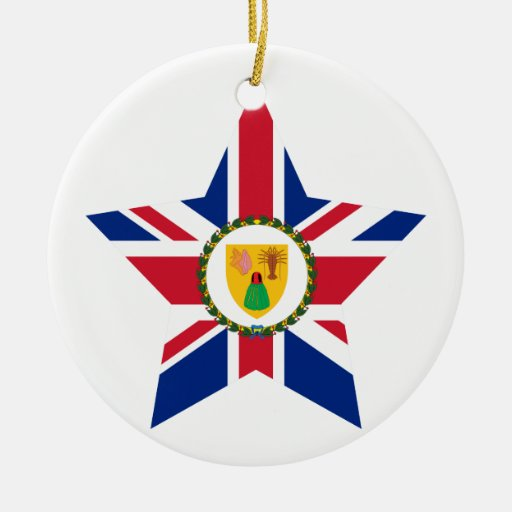 Turks+and+Caicos+Islands Star Ornaments