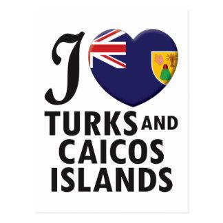 Turks and Caicos Islands. Tarjetas Postales