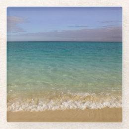 Turks and Caicos, Providenciales Island Glass Coaster