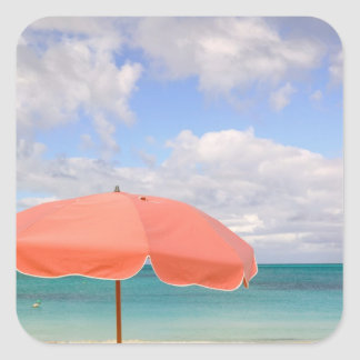Turks and Caicos, Providenciales Island, Grace Square Sticker