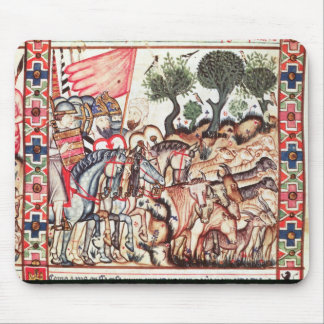 Turks and Moors Regaining their Land Mouse Pad