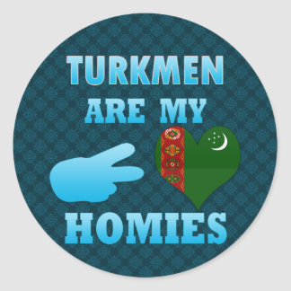 Turks are my Homies Stickers