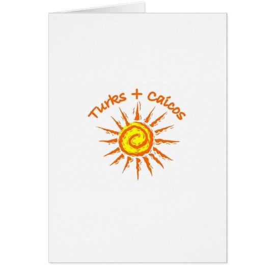 Turks & Caicos Card
