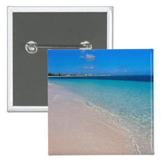 Turks & Caicos Club, Providenciales, Turks & 2 Inch Square Button