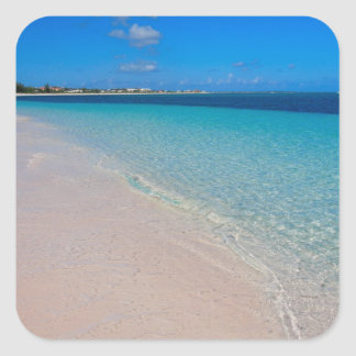Turks & Caicos Club, Providenciales, Turks & Square Stickers