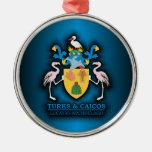 Turks & Caicos COA Ornaments