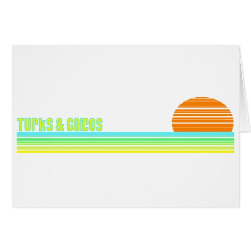 Turks & Caicos Greeting Cards